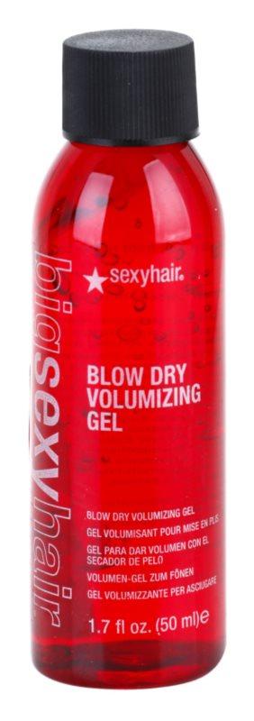 Sexy Hair Big gél dúsabb hatásért