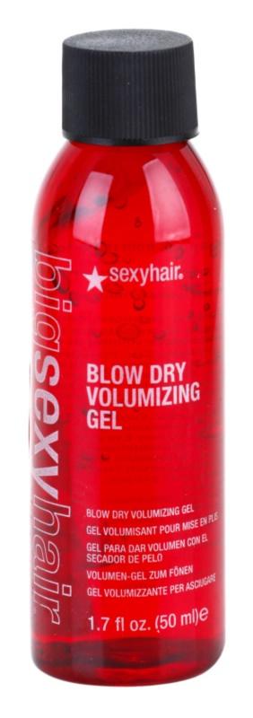 Sexy Hair Big gel para aumentar o volume