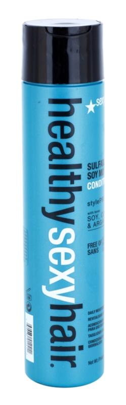 Sexy Hair Healthy зволожуючий кондиціонер для захисту кольору без сульфатів та парабенів