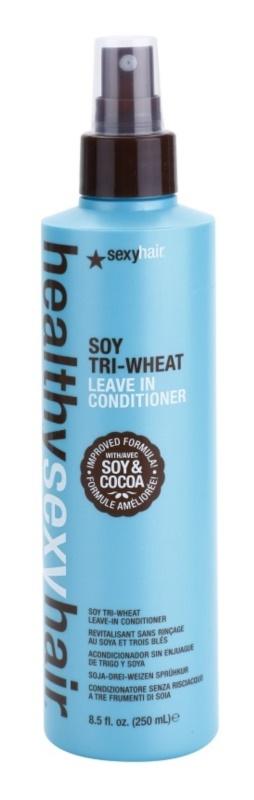 Sexy Hair Healthy odżywka bez spłukiwania z soją i kakao