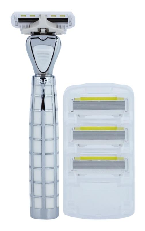 Shave-Lab Luxury Tres P.L.4 borotva tartalék pengék 3 db