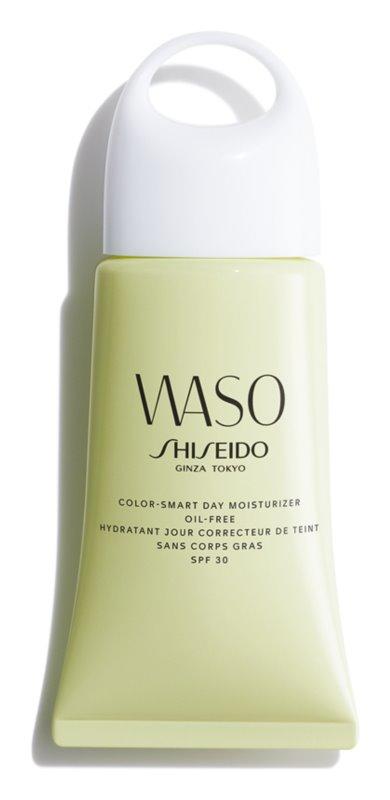 Shiseido Waso Color-Smart Day Moisturizer crema de día hidratante para unificar el tono de la piel sin aceites añadidos