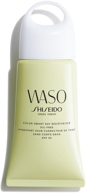 Shiseido Waso Color-Smart Day Moisturizer hydraterende dagcrème om voor effening van de teint Olievrij