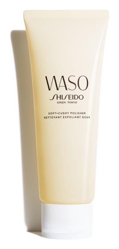 Shiseido Waso Soft + Cushy Polisher gommage visage