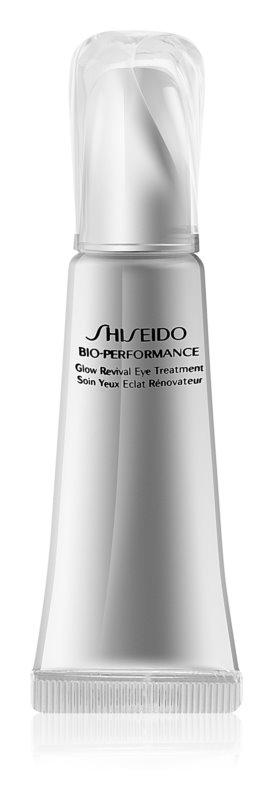 Shiseido Bio-Performance Glow Revival Eye Treatment krema proti gubam za predel okoli oči proti oteklinam in temnim kolobarjem