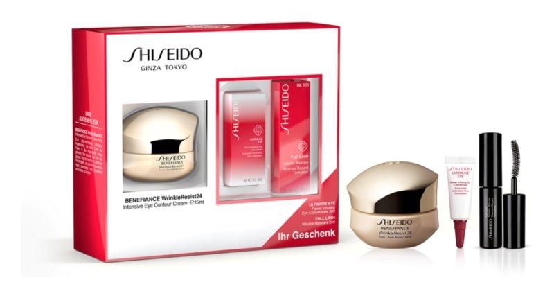 Shiseido Benefiance WrinkleResist24 Intensive Eye Contour Cream kozmetická sada I.