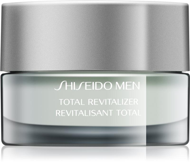 Shiseido Men Total Age-Defense ревитализиращ и тонизиращ крем против бръчки