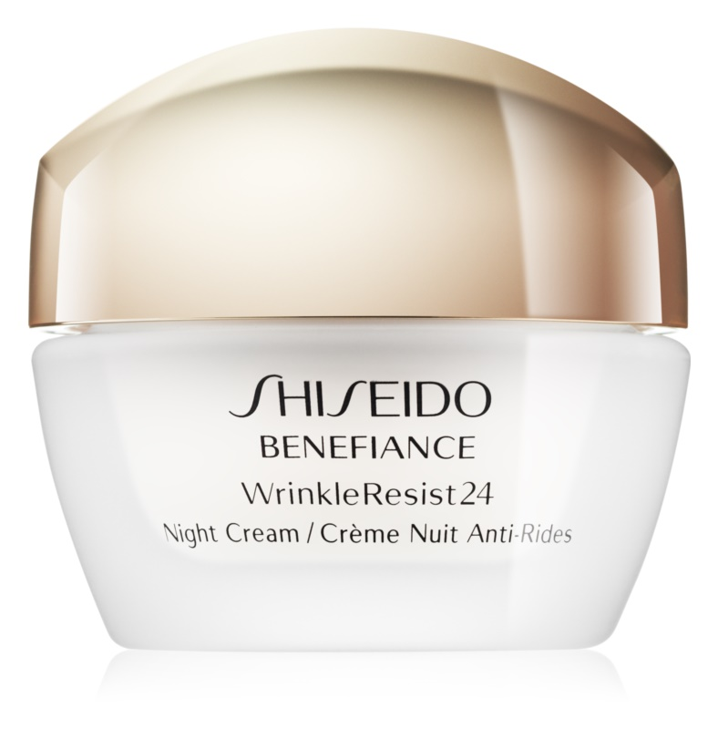 Shiseido Benefiance WrinkleResist24 crema de noapte hidratanta antirid