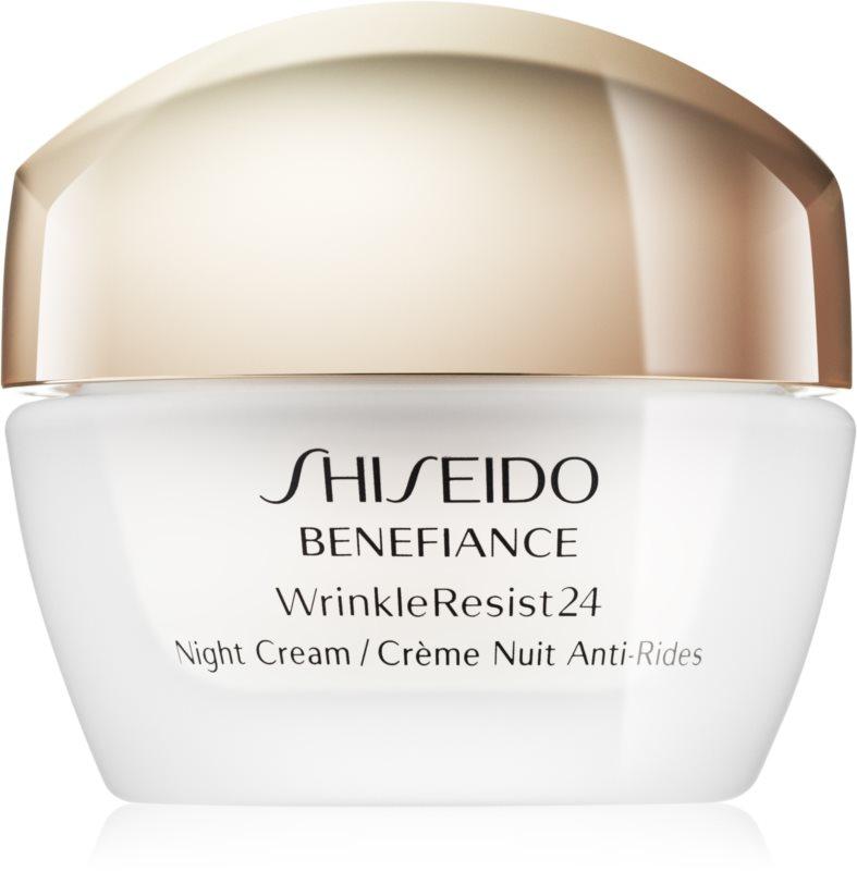 Shiseido Benefiance WrinkleResist24 Night Cream noćna hidratantna krema protiv bora