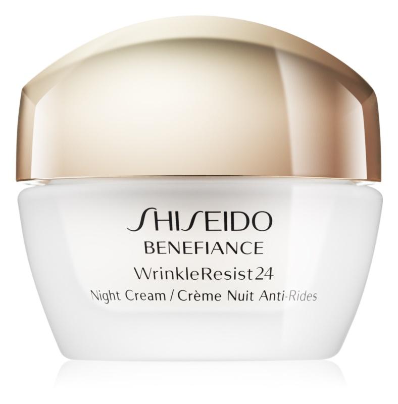 Shiseido Benefiance WrinkleResist24 нощен хидратиращ крем  против бръчки