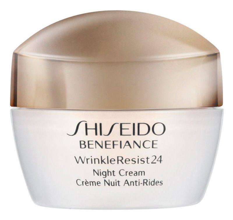 Shiseido Benefiance WrinkleResist24 Night Cream crema de noapte hidratanta antirid