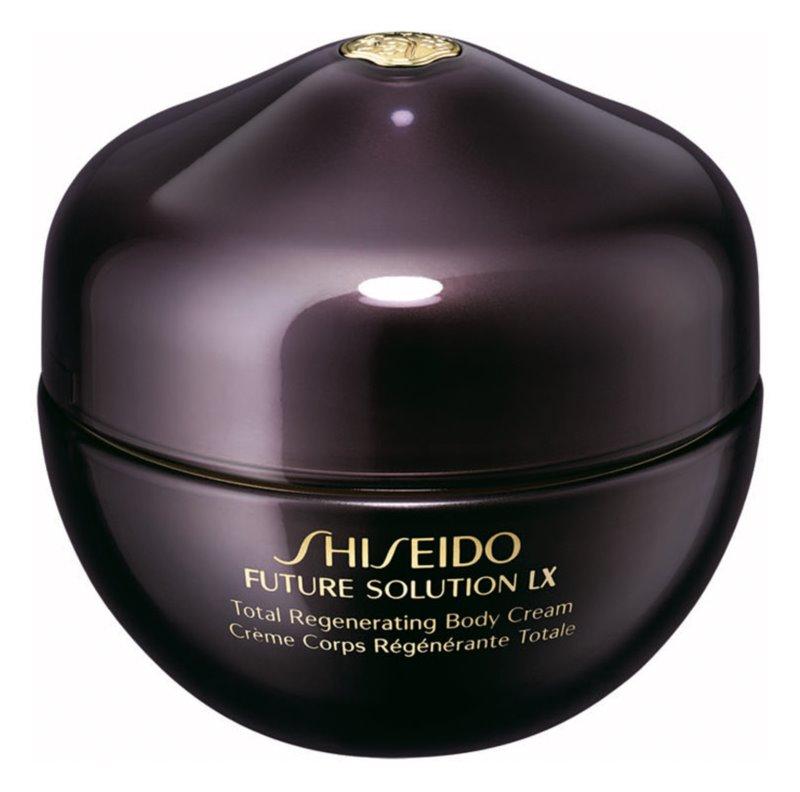 Shiseido Future Solution LX Total Regenerating Body Cream stärkende Körpercrem für sanfte und weiche Haut