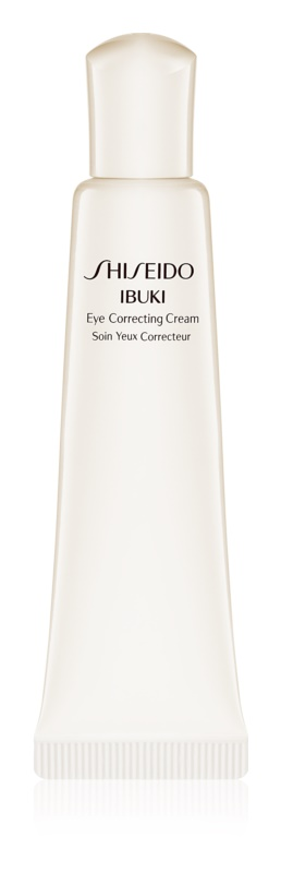 Shiseido Ibuki hydratisierende Augencreme gegen Falten, Schwellungen und Augenringe