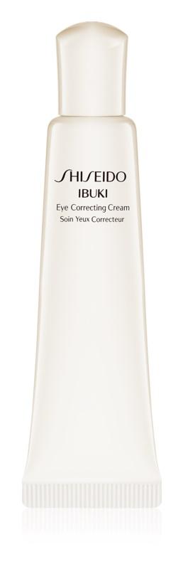 Shiseido Ibuki nawilżający krem pod oczy przeciw zmarszczkom, opuchnięciom i cieniom pod oczami