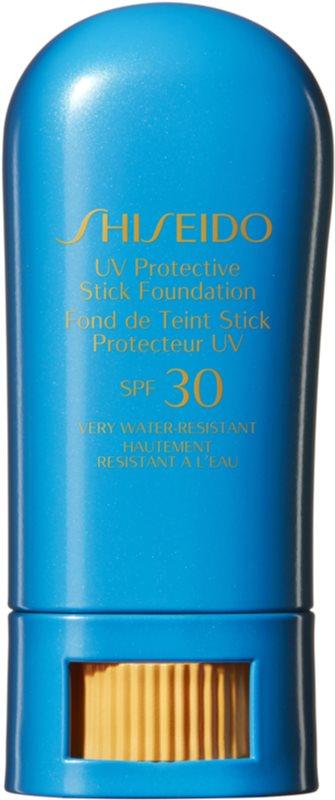 Shiseido Sun Care UV Protective Stick Foundation fond de teint protecteur waterproof en stick SPF 30