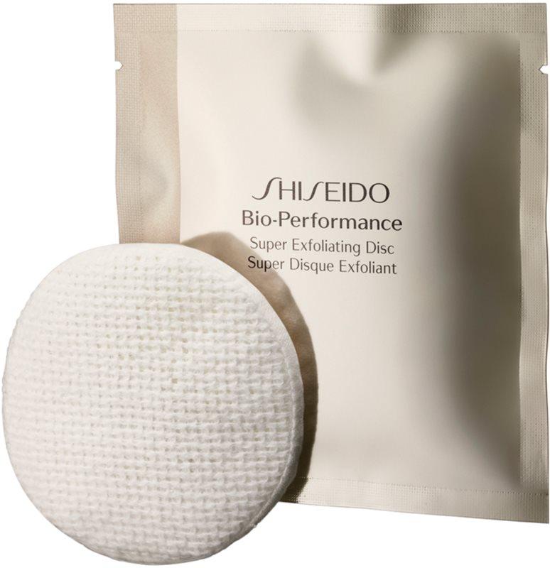 Shiseido Bio-Performance Super Exfoliating Disc discos limpiadores exfoliantes rejuvenecedor de la piel