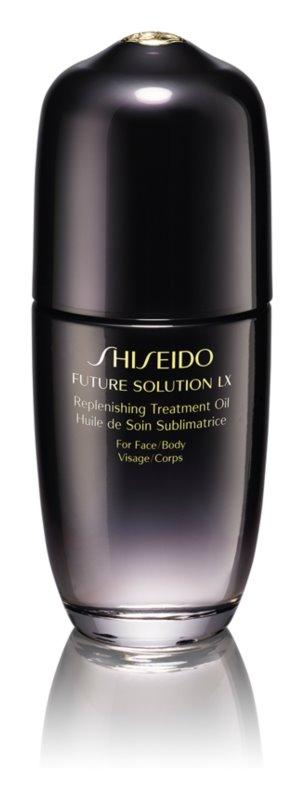 Shiseido Future Solution LX Replenishing Treatment Oil олійка для догляду за шкірою для тіла та обличчя