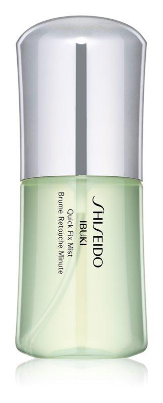 Shiseido Ibuki Quick Fix Mist brume hydratante pour peaux grasses