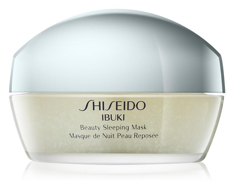 """Shiseido Ibuki Beauty Sleeping Mask Feuchtigkeitssteigernde """"Schlaf-""""Maske"""