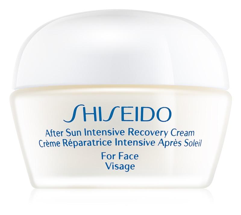 Shiseido Sun After Sun зволожуючий відновлюючий крем для обличчя