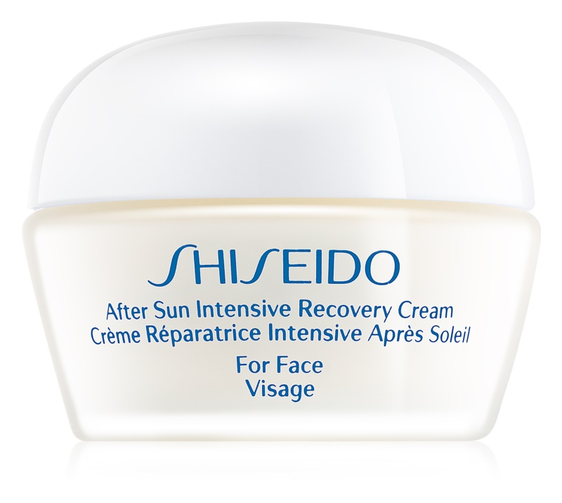 Shiseido Sun Care After Sun regeneracijska in vlažilna krema za obraz