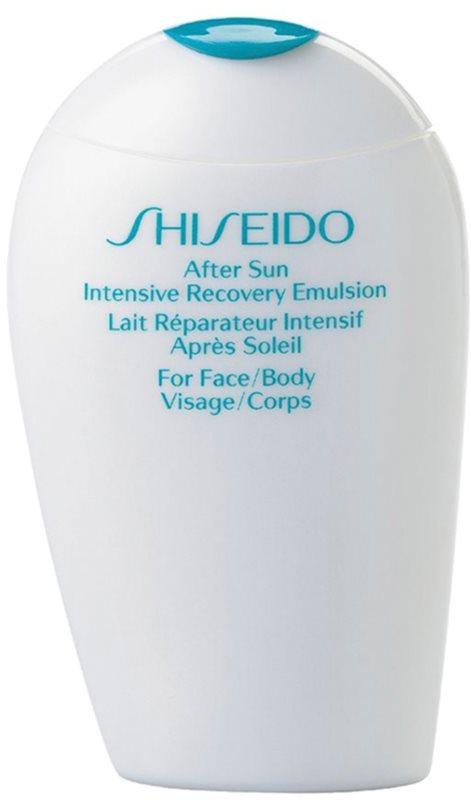 Shiseido Sun Care After Sun Intensive Recovery Emulsion émulsion rénovatrice après-soleil visage et corps