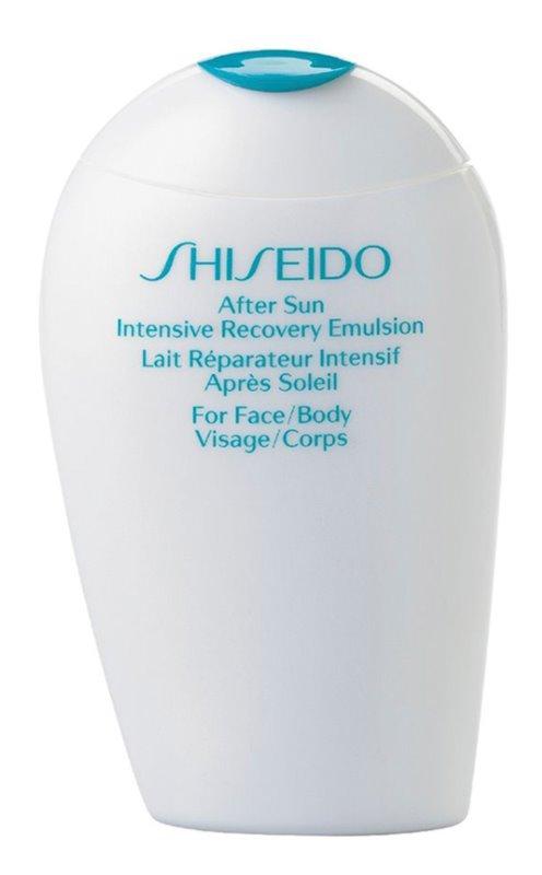 Shiseido Sun Care After Sun Intensive Recovery Emulsion obnovujúca emulzia po opaľovaní na tvár a telo