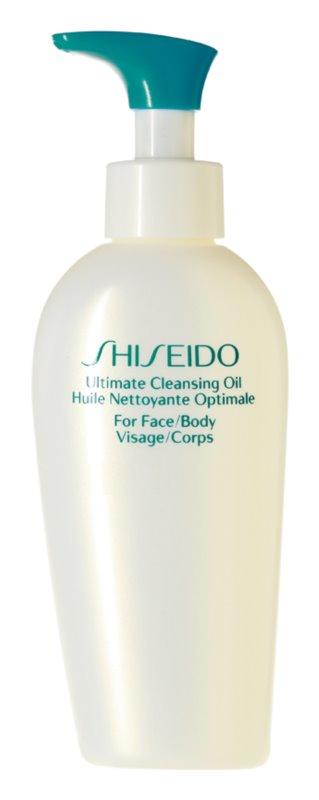 Shiseido Sun Care Ultimate Cleansing Oil Wasserlösliches Reinigungsöl