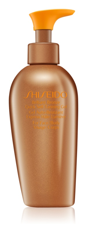 Shiseido Sun Care Self-Tanning gel autobronzeador para corpo e rosto