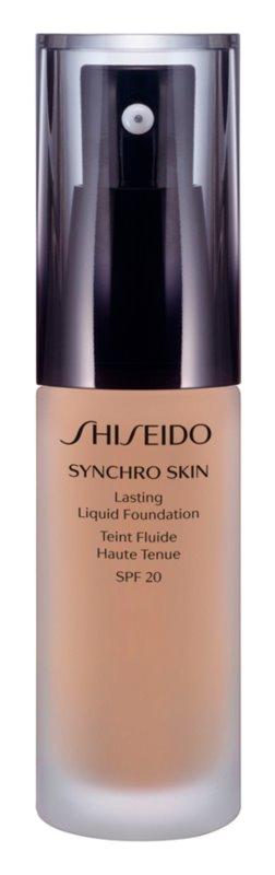 Shiseido Makeup Synchro Skin Lasting Liquid Foundation SPF20 dlhotrvajúci make-up SPF 20