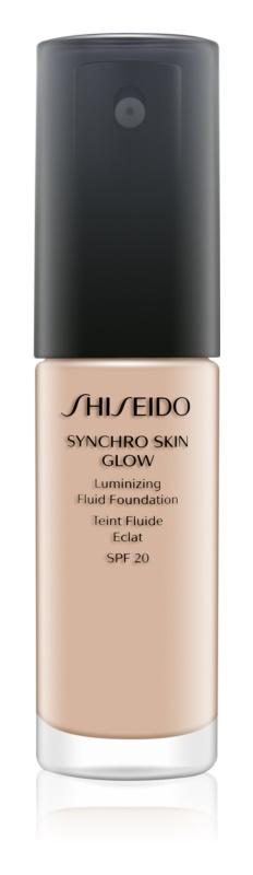 Shiseido Synchro Skin Glow posvjetljujući puder SPF 20