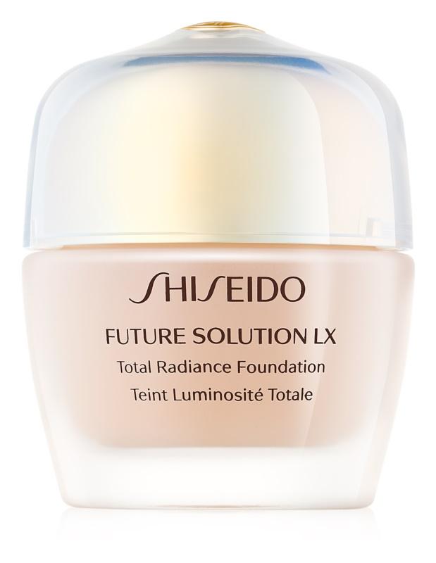 Shiseido Future Solution LX Total Radiance Foundation подмладяващ фон дьо тен SPF 15