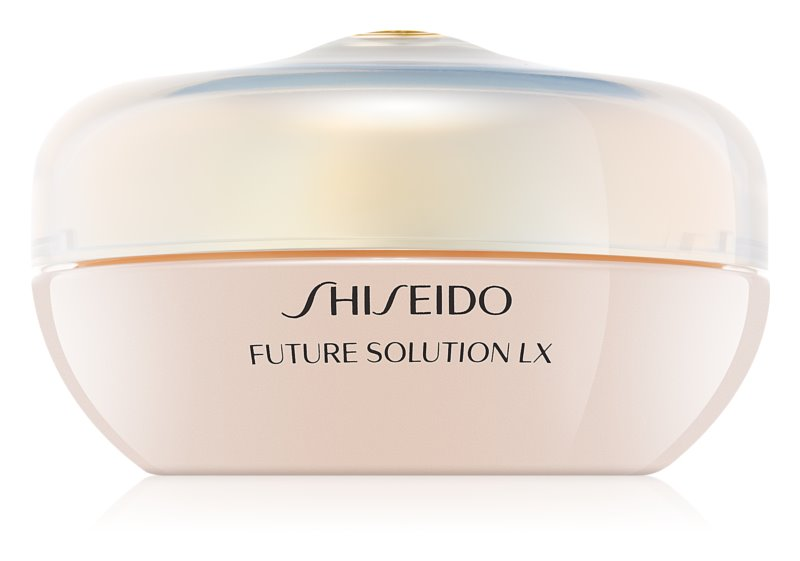 Shiseido Future Solution LX Total Radiance Loose Powder rozjasňující sypký pudr