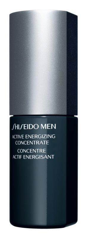 Shiseido Men Active Energizing Concentrate concentrado rejuvenecedor para alisar la piel y minimizar los poros