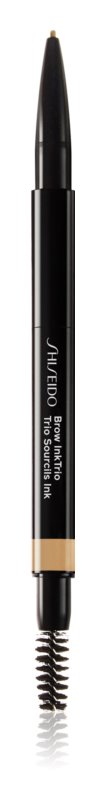 Shiseido Makeup InkTrio tužka a pudr na obočí s aplikátorem
