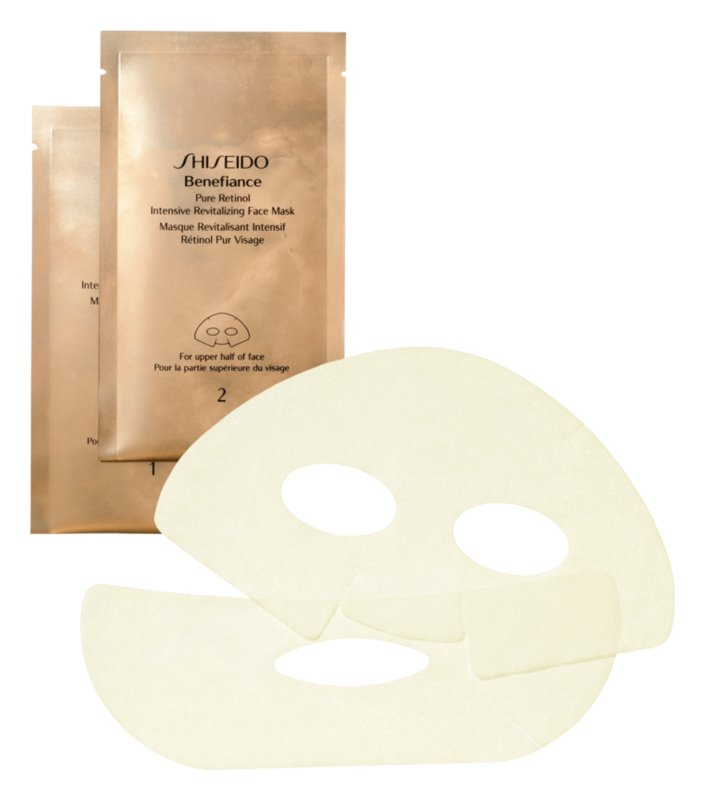 Shiseido Benefiance Pure Retinol Intensive Revitalizing Face Mask Pure Retinol Intensive Revitalizing Face Mask