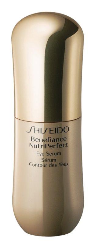 Shiseido Benefiance NutriPerfect Eye Serum szérum szemre a ráncok, duzzanatok és sötét karikák ellen