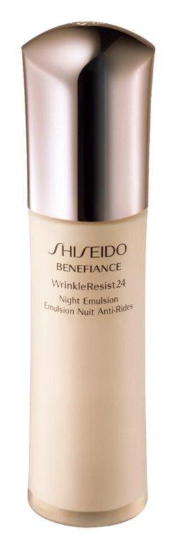 Shiseido Benefiance WrinkleResist24 Night Emulsion nočná hydratačná starostlivosť proti vráskam
