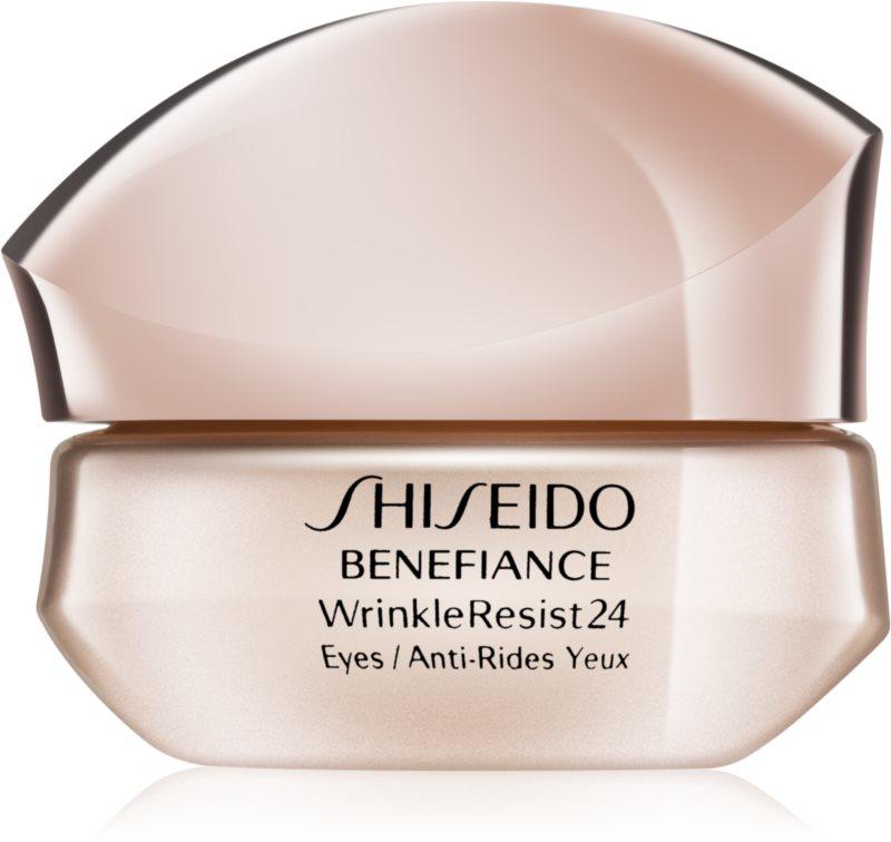 shiseido benefiance wrinkleresist24 intensive augencreme gegen falten. Black Bedroom Furniture Sets. Home Design Ideas