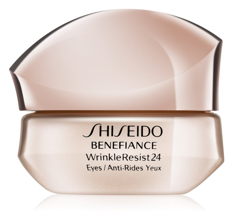 Shiseido Benefiance WrinkleResist24 intenzív szemkörnyékápoló krém a ráncok ellen