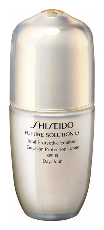 Shiseido Future Solution LX Total Protective Emulsion SPF15 Total Protective Emulsion SPF 15