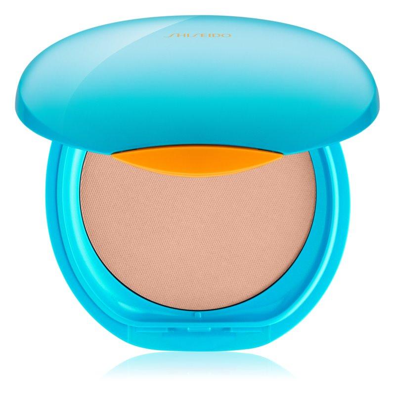 Shiseido Sun Foundation vodeodolný kompaktný make-up SPF 30