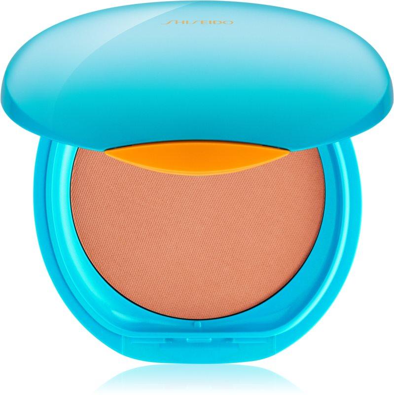 Shiseido Sun Foundation maquillaje compacto resistente al agua SPF 30
