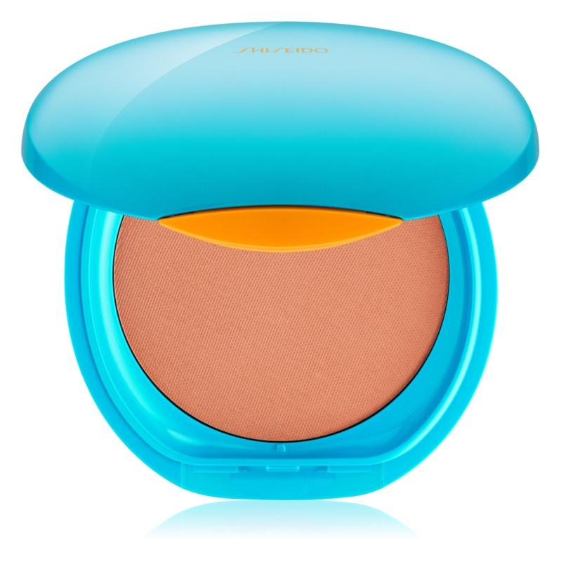 Shiseido Sun Foundation vodootporni kompaktni puder SPF 30