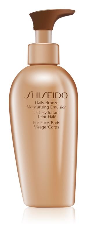 Shiseido Sun Self-Tanning Bronzing Lotion met Hydraterende Werking
