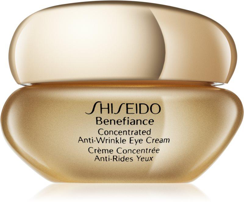 Shiseido Benefiance Concentrated Anti-Wrinkle Eye Cream krema za predel okoli oči proti oteklinam in gubam