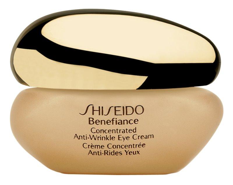 Shiseido Benefiance Concentrated Anti-Wrinkle Eye Cream Augencreme gegen Schwellungen und Falten