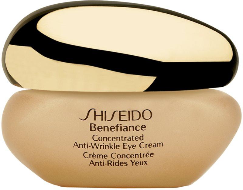Shiseido Benefiance Concentrated Anti-Wrinkle Eye Cream szemkrém a duzzanatok és ráncok ellen
