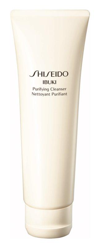 Shiseido Ibuki Purifying Cleanser erfrischender Reinigungsschaum mit Microperls