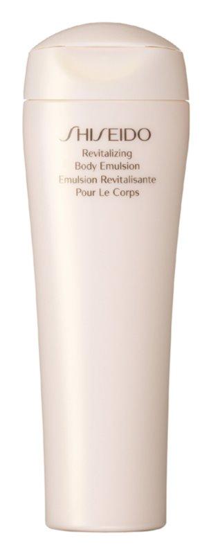 Shiseido Global Body Care Revitalizing Body Emulsion Feuchtigkeitsspendende Körperemulsiom